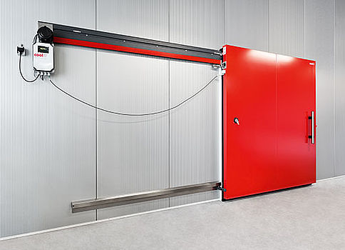safety edges from ASO on cool-it freezer room doors